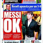 Mundo Deportivo: Messi ok