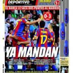 Mundo deportivo: Il Barça prende due punti al Real