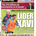 Mundo Deportivo: Leader Xavi