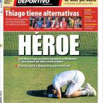 Mundo Deportivo: Thiago ha le alternative