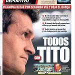 Mundo Deportivo: Tutti con Tito