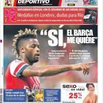 """Mundo Deportivo: """"Si, il Barcellona mi vuole"""""""