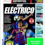 El Mundo Deportivo: Derby elettrico