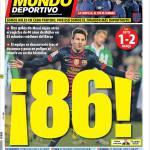 Mundo Deportivo: 86!
