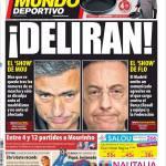 Mundo Deportivo: Mourinho e Perez delirano!