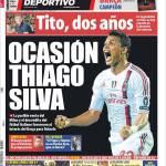 Mundo Deportivo: Occasione Thiago Silva