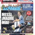 Mundo Deportivo: Messi, mamma mia!