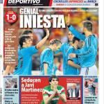 Mundo Deportivo: Geniale Iniesta