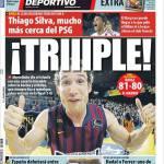 Mundo Deportivo: Thiago Silva molto più vicino al Psg