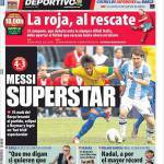 Mundo Deportivo: Messi superstar