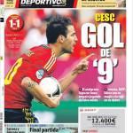 Mundo Deportivo: Cesc, gol da numero 9