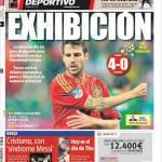 Mundo Deportivo: Esibizione