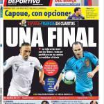 Mundo Deportivo: Una finale!