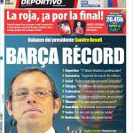 Mundo Deportivo: Barça record