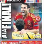 Mundo Deportivo: In finale