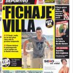 Mundo Deportivo: Acquistato Villa