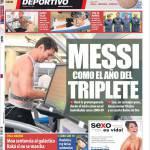 Mundo Deportivo: Messi come nell'anno del Triplete
