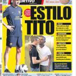 Mundo Deportivo: Stile Tito