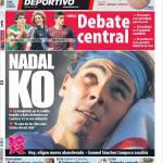 Mundo Deportivo: Nadal k.o.