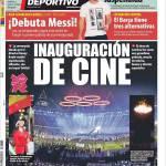 Mundo Deportivo: Inaugurazione da film