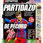 """El Mundo Deportivo: """"Partidazo"""""""