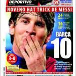 Mundo Deportivo: Barça 10