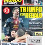 Mundo Deportivo: Trionfo con regalo