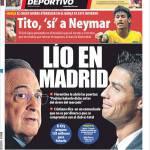 Mundo Deportivo: Lite a Madrid