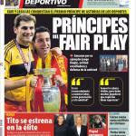 Mundo Deportivo: Principi del fair play