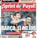 Mundo Deportivo: Barça, il migliore