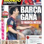 Mundo Deportivo: Il Barcellona vince se segna Messi