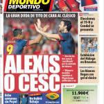 Mundo Deportivo: Alexis o Cesc