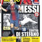 Mundo Deportivo: Messi contro Di Stefano
