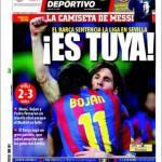 """El Mundo Deportivo: """"E' tuo"""""""