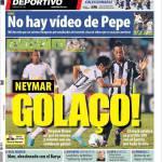 Mundo Deportivo: Neymar golazo