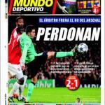 Mundo Deportivo: Perdonano