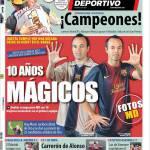 Mundo Deportivo: 10 anni magici