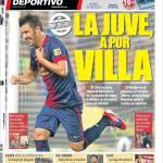 Mundo Deportivo: La Juve da Villa