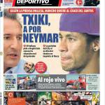 Mundo Deportivo: Txiki lavora per Neymar