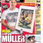 Mundo Deportivo: Messi punta Muller