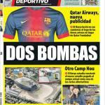 Mundo Deportivo: Due bombe
