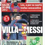Mundo Deportivo: Villa fa il Messi