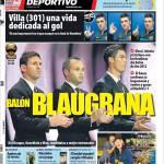 Mundo Deportivo: Pallone d'Oro blaugrana