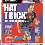 Mundo Deportivo: Hat trick di rinnovi