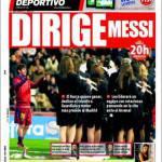 El Mundo Deportivo: dirige Messi