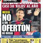 Mundo Deportivo: Messi, no a un'offertona dalla Russia