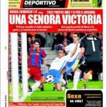 Mundo Deportivo: una signora vittoria