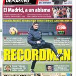Mundo Deportivo: Recordman