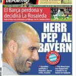 Mundo Deportivo: Mr Pep in Baviera
