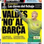 Mundo Deportivo: Valdes, no al Barcellona